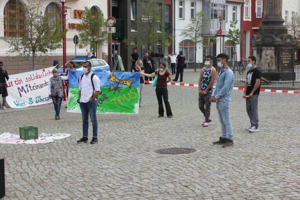 Bild 1 - Demo für Bus 571 in Doberlug-Kirchhain