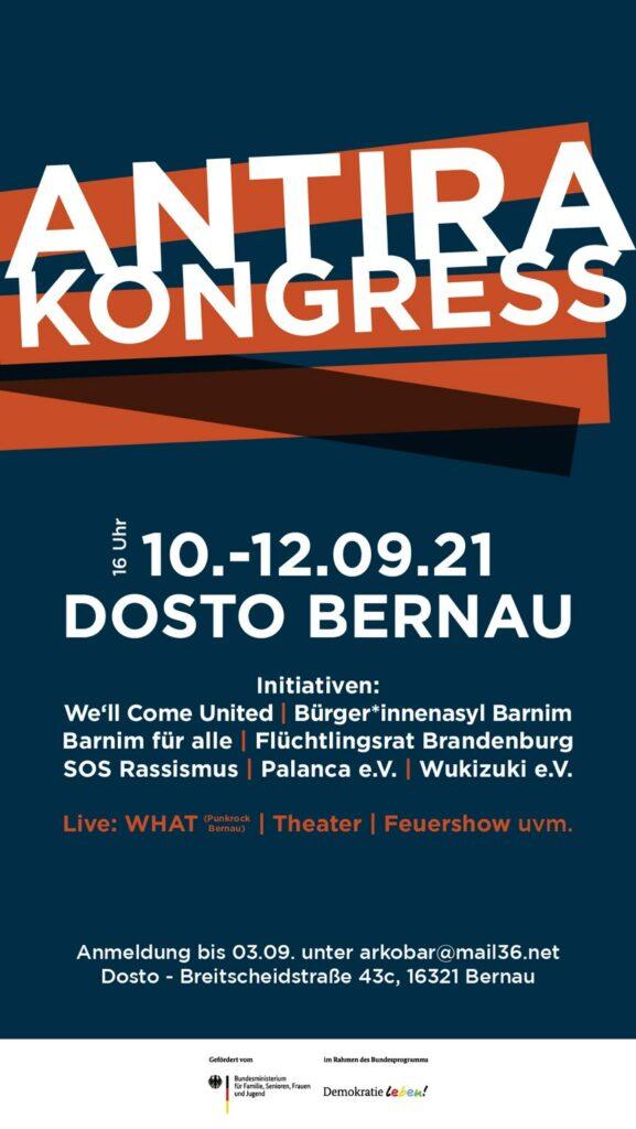 Antira-Kongress in Bernau